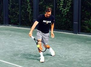 Polo Nike Tenis Emoji Roger Federer A 130 Soles!!! Talla M