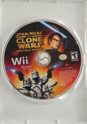 Star Wars The Clone Wars Republic Heroes Nintendo Wii