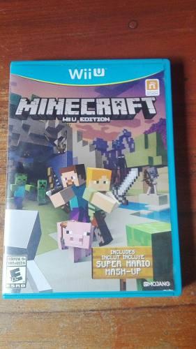 Vendo Minecraft Wii U Edition (mashup Super Mario Bros.)