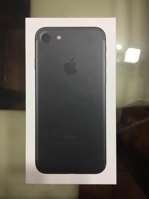 Caja iPhone 7 32Gb Negro Mate