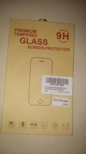 Protector de vidrio templado para pantalla LG K500H/LG X