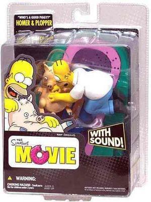 The Simpsons The Movie Homero Figura Mc Farlane Con Sonido!