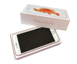 iPhone 6S Plus Rose Gold 64 GB en caja con accesorios