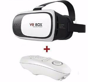Lentes Vr Box 2.0 Lente De Realidad Virtual +mando Bluetooth