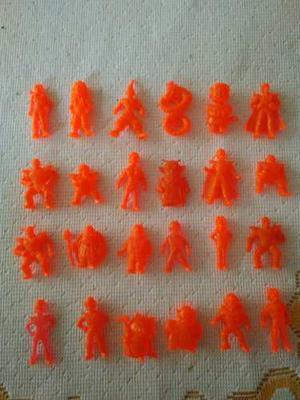 Miniaturas Dragon Ball Z Cremino  Coleccion Completa Red