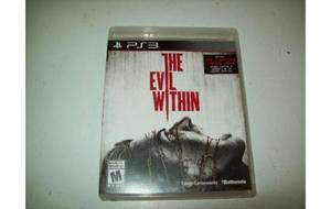 Juego The Evil Within Ps3