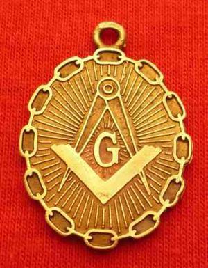 Medalla Masonica Lealtad Justicia Logia Masones Escuadra Ywy