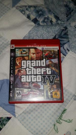 Video Juego Grand Theft Auto Iv Ps3