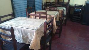 Se Vende 7 Mesas Y 28 Sillas en Barranca