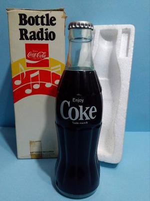 Antigua Botella Radio Am Coca Cola - Coleccionable