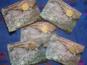 Blister Nueva Moneda Petroglifos De Pusharo