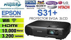 Oferta Proyector Epson Powerlite S31+ Envios A Todo El Peru