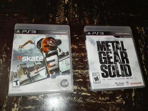 Skate 3 Y Metal Gear Solid Collectio 1a4