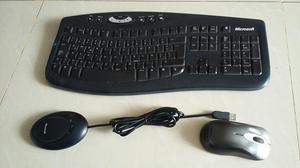 Teclado Y Mouse Inalambrico Microsoft