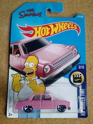 Hot Wheels de Colección The Simpsons Car