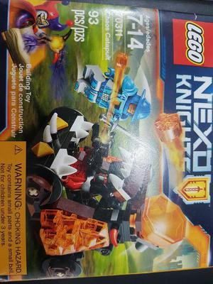 Lego nexo knights catapulca nuevo | Posot Class