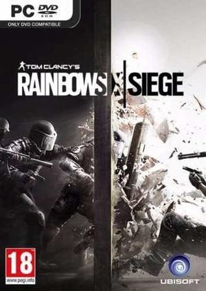Tom Clancy's Rainbow Six Siege Juego Pc Mac Codigo Steam