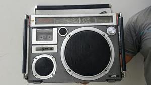 Vintage Radio Boombox Jvc Rc 550w Made In Japan Funciona