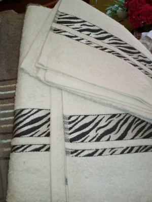 toallas de algodón LO y LA