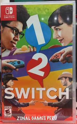 1-2 Switch / Nintendo Switch Disponible Envios -delivery