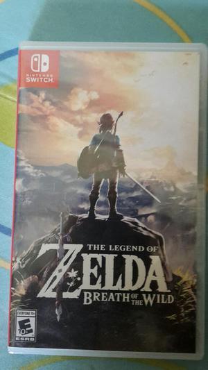 Vendo Juego Zelda Nintendo Switch Nuevo
