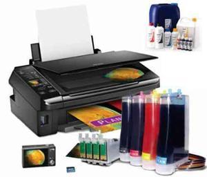 impresoras epson sistema continuo multifuncional