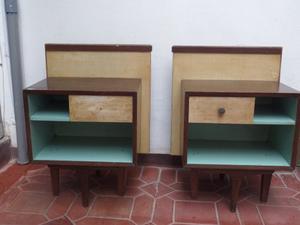 Antiguo Velador Mueble En Madera Cedro Para Personalizar