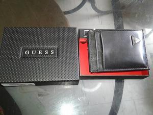 Billetera Guess De Hombre Cuero Original