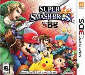 Juegos 3ds Super Smash Bros. 3ds [digital] Nintendo Eshop