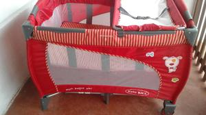 Ocasion Cuna Corral Cambiador Baby Kits Rojo Unisex Semi Posot Class