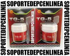Pasta Termica Thermaltake Tg-5 Pote 40 Grs Cpu, Gpu, Chipset