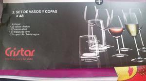 Set diamante de licorera decanter copas y vasos posot class for Vasos y copas