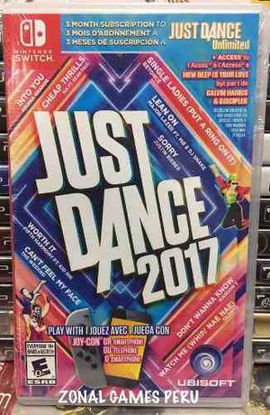 Just Dance  Para Switch Disponible Envios -delivery