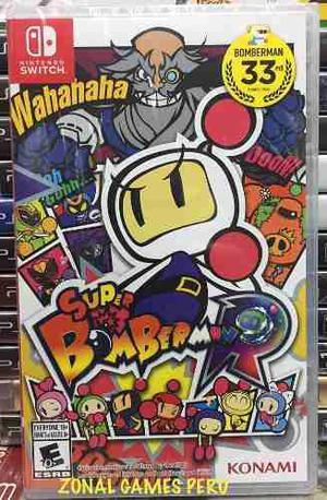 Super Bomberman R Para Switch Disponible Envios -delivery