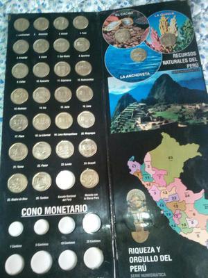 Vendo Colección de Monedas Completa