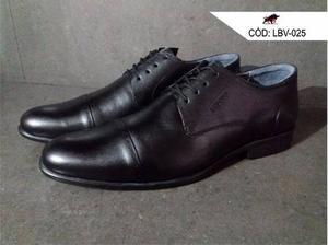 Zapato De Cuero Genuino Para Varon