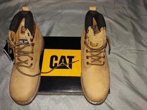 Zapatos Cat Hombre Holton St Punta De Acero