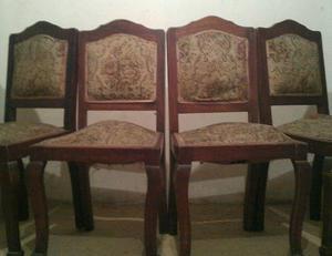 6 sillas antiguas pata de le n posot class for Sanitarios bellavista modelos antiguos