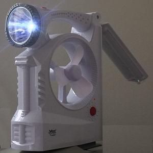 Kit De Iluminación De Energia Solar Con Ventilador