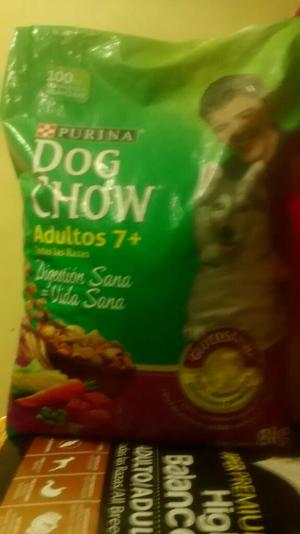 Oferta Dog Chow Adulto Mayor 8k