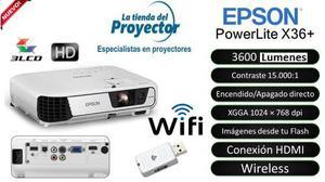 Oferta Proyector Epson Powerlite X36+ Envios A Todo El Peru