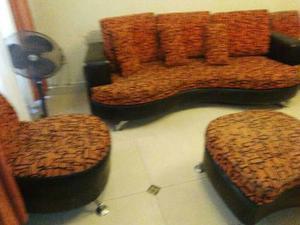 Remato Por Viaje Juego De Sala Sofa Cama 3 Y 2 Y Comedor