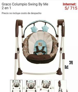 Silla para Bebe Columpio Nuevo Graco