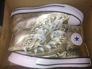 Zapatillas Converse All Star para Mujer 36.5 color dorado