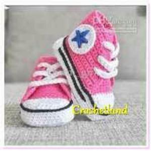 Zapatillas Converse Tejidas para Bebitas