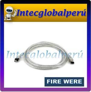 Cable De Camara De Video Filmadora (fire Were)-6p / 4p