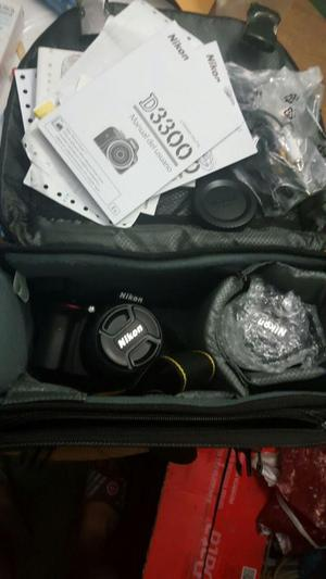 Camara Nikon D lentes intercambiables impecable con 2