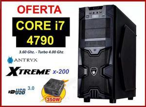 Cpu Core I7 4ta Generación / Hdd 1tb/ 8gb Ram Hyperx
