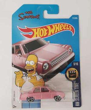 Hot Wheels The Simpsons Coleccion Homero Hw