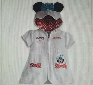 Salida De Baño Disney + Sandalias